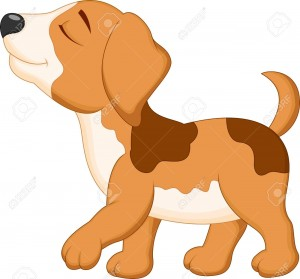 27166027-Dog-cartoon-walking--Stock-Vector-animal